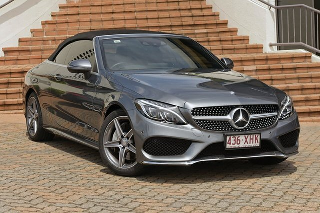 Used Mercedes-Benz C200 9G-Tronic, Narellan, 2016 Mercedes-Benz C200 9G-Tronic Cabriolet
