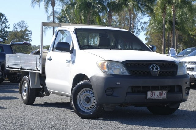 Used Toyota Hilux Workmate 4x2, Beaudesert, 2006 Toyota Hilux Workmate 4x2 Cab Chassis