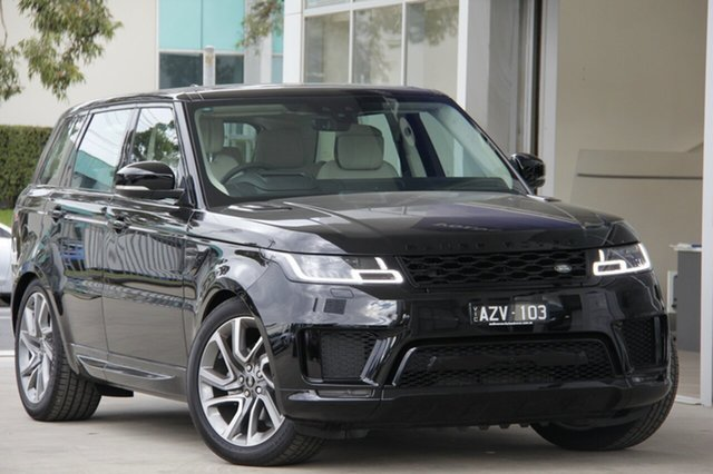 Demonstrator, Demo, Near New Land Rover Range Rover Sport SDV6 CommandShift Autobiography Dynamic, Port Melbourne, 2018 Land Rover Range Rover Sport SDV6 CommandShift Autobiography Dynamic Wagon
