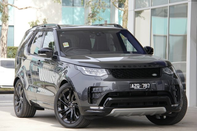 Demonstrator, Demo, Near New Land Rover Discovery SD6 HSE Luxury, Port Melbourne, 2018 Land Rover Discovery SD6 HSE Luxury Wagon