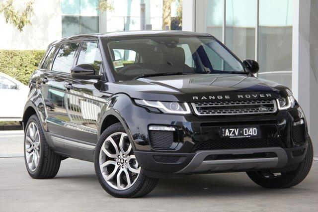 Demonstrator, Demo, Near New Land Rover Range Rover Evoque TD4 110kW SE, Port Melbourne, 2018 Land Rover Range Rover Evoque TD4 110kW SE Wagon