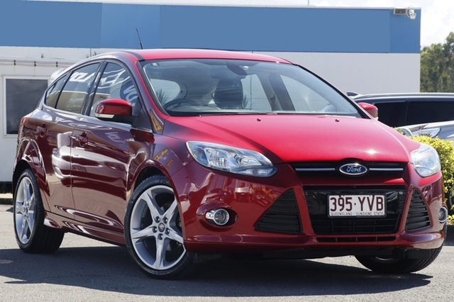Used Ford Focus Titanium PwrShift, Bowen Hills, 2012 Ford Focus Titanium PwrShift Hatchback
