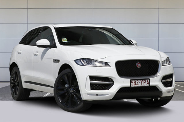 Demonstrator, Demo, Near New Jaguar F-PACE 20d AWD R-Sport, Southport, 2017 Jaguar F-PACE 20d AWD R-Sport Wagon