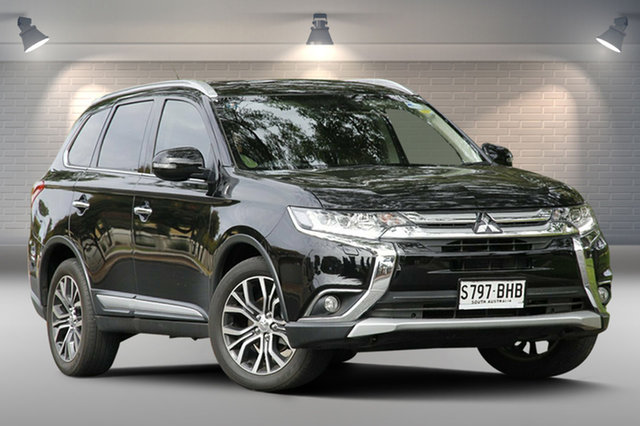 Used Mitsubishi Outlander Exceed 4WD, Nailsworth, 2015 Mitsubishi Outlander Exceed 4WD Wagon