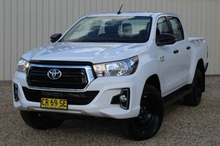 2018 Toyota Hilux SR (4x4) Double Cab Pickup.