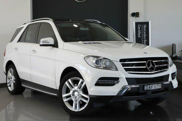 Used Mercedes-Benz ML250 BlueTEC 7G-Tronic +, Narellan, 2015 Mercedes-Benz ML250 BlueTEC 7G-Tronic + Wagon