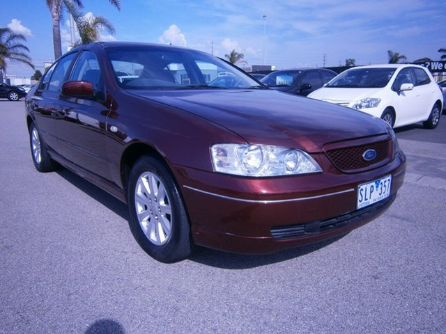 Used Ford Falcon Futura, Cheltenham, 2003 Ford Falcon Futura Sedan