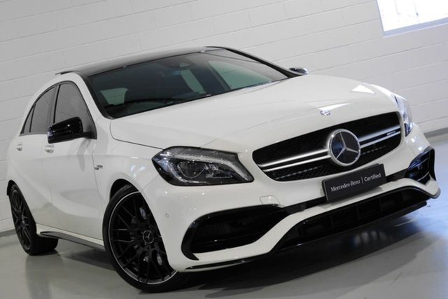 Used Mercedes-Benz A45 AMG SPEEDSHIFT DCT 4MATIC, Narellan, 2016 Mercedes-Benz A45 AMG SPEEDSHIFT DCT 4MATIC Hatchback