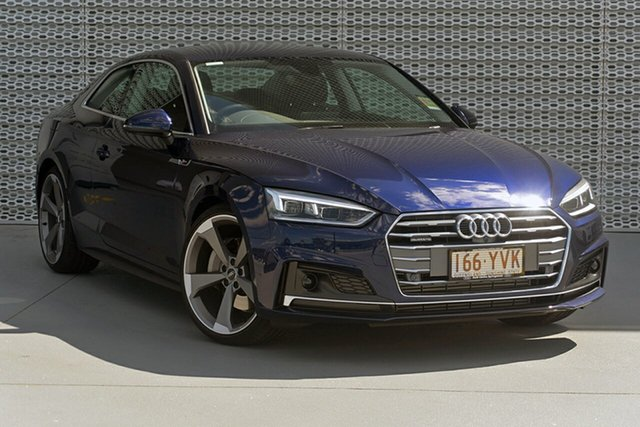 Demonstrator, Demo, Near New Audi A5, Southport, 2018 Audi A5 Coupe