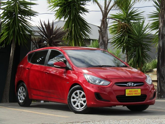Used Hyundai Accent Active, Enfield, 2012 Hyundai Accent Active Hatchback