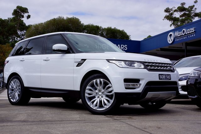 Used Land Rover Range Rover Sport SDV6 CommandShift HSE, Balwyn, 2014 Land Rover Range Rover Sport SDV6 CommandShift HSE Wagon