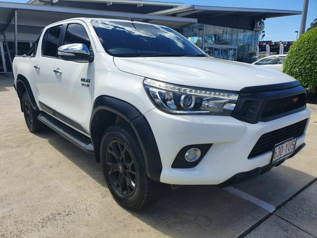 Discounted Used Toyota Hilux SR5 Double Cab, Yamanto, 2017 Toyota Hilux SR5 Double Cab Utility