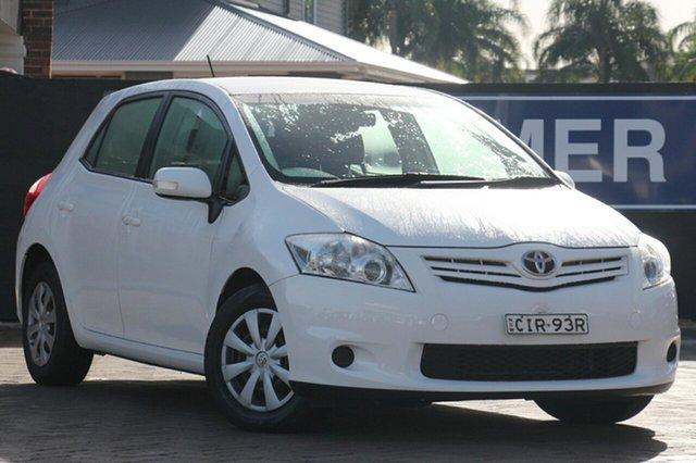 Discounted Used Toyota Corolla Ascent, Narellan, 2012 Toyota Corolla Ascent Hatchback
