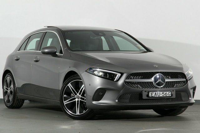 Demonstrator, Demo, Near New Mercedes-Benz A250 D-CT, Narellan, 2019 Mercedes-Benz A250 D-CT Hatchback