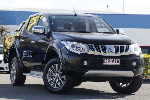 Used Mitsubishi Triton GLS Double Cab, Bowen Hills, 2015 Mitsubishi Triton GLS Double Cab Utility
