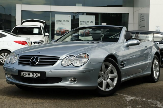 Used Mercedes-Benz SL350, Brookvale, 2004 Mercedes-Benz SL350 Convertible