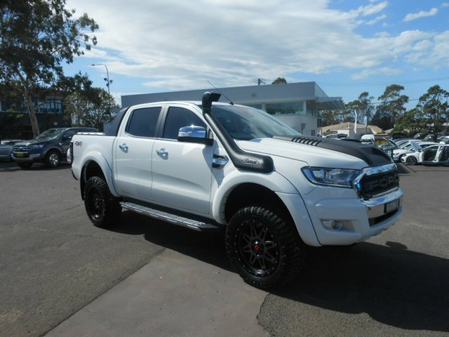Used Ford Ranger XLT Double Cab, Nowra, 2016 Ford Ranger XLT Double Cab Utility