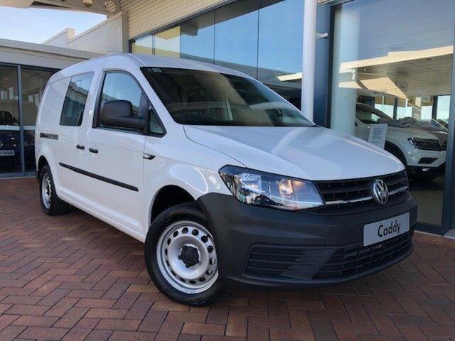 Discounted New Volkswagen Caddy TSI220 Crewvan Maxi DSG, Toowoomba, 2019 Volkswagen Caddy TSI220 Crewvan Maxi DSG Van
