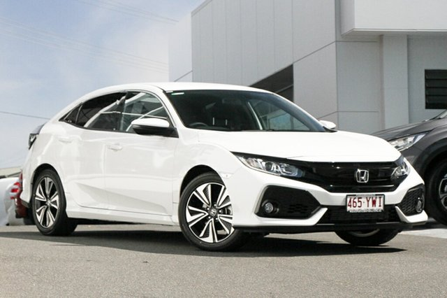 Demonstrator, Demo, Near New Honda Civic VTi-L, Indooroopilly, 2019 Honda Civic VTi-L Hatchback