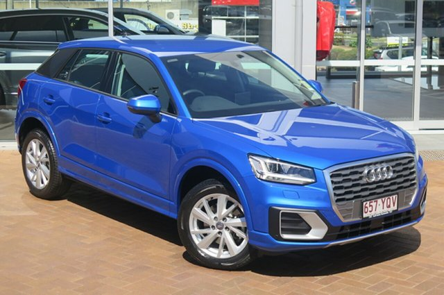 Demonstrator, Demo, Near New Audi Q2 35 TFSI S Tronic design, Toowoomba, 2018 Audi Q2 35 TFSI S Tronic design Wagon