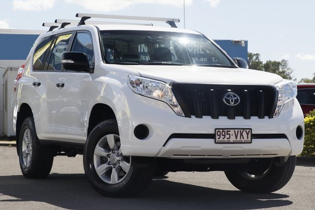 Used Toyota Landcruiser Prado GX, Bowen Hills, 2015 Toyota Landcruiser Prado GX Wagon