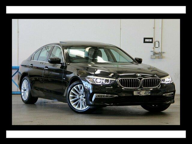 Used BMW 520d Luxury Line Steptronic, Clayton, 2017 BMW 520d Luxury Line Steptronic Sedan