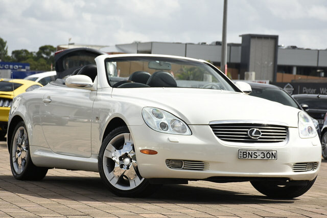 Discounted Used Lexus SC430, Narellan, 2003 Lexus SC430 Convertible