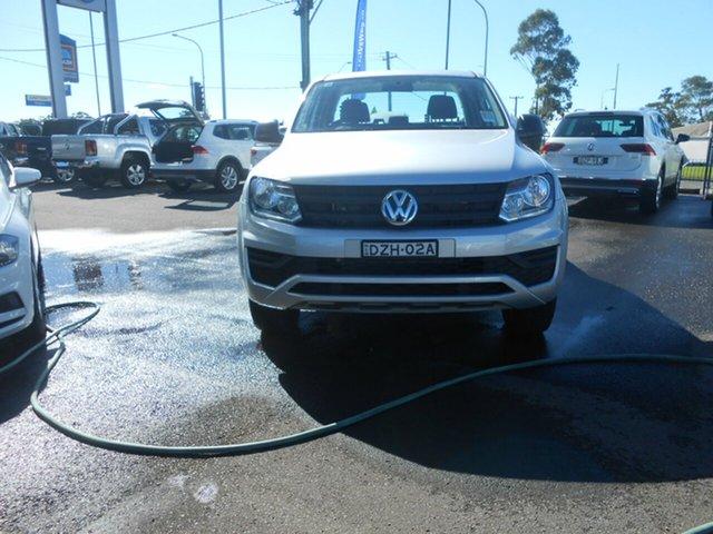 Demonstrator, Demo, Near New Volkswagen Amarok TDI420 Core Edition (4x4), Nowra, 2018 Volkswagen Amarok TDI420 Core Edition (4x4) Dual Cab Utility