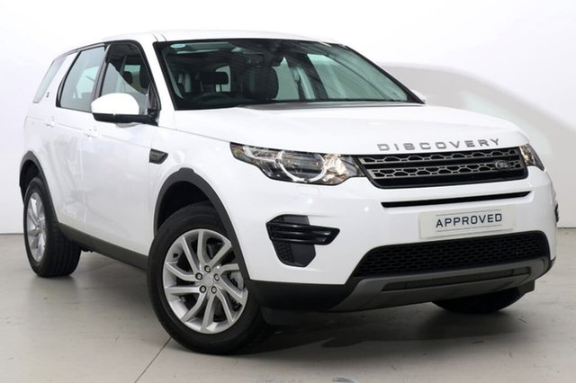 Used Land Rover Discovery Sport TD4 132kW SE, Alexandria, 2017 Land Rover Discovery Sport TD4 132kW SE Wagon