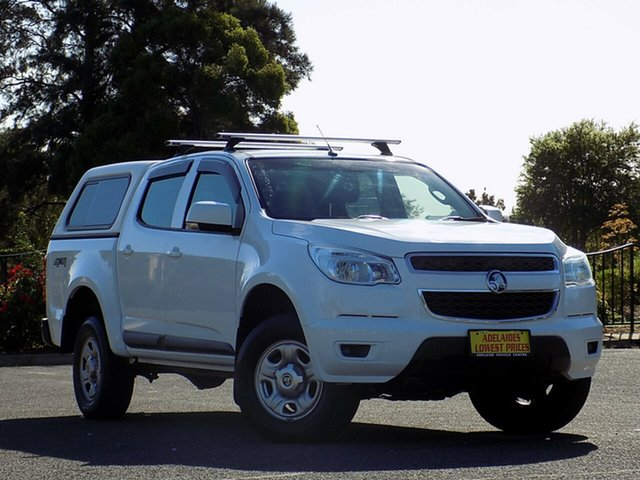 Used Holden Colorado LX Crew Cab, 2014 Holden Colorado LX Crew Cab Utility