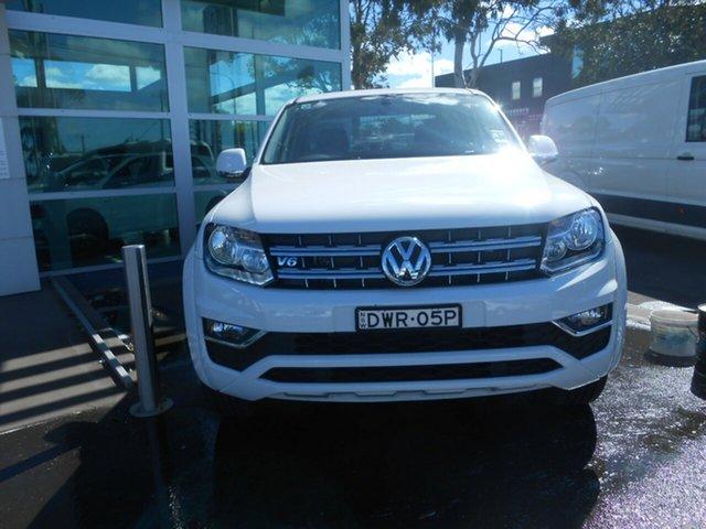 Discounted Demonstrator, Demo, Near New Volkswagen Amarok V6 TDI 550 Sportline, Nowra, 2018 Volkswagen Amarok V6 TDI 550 Sportline Dual Cab Utility