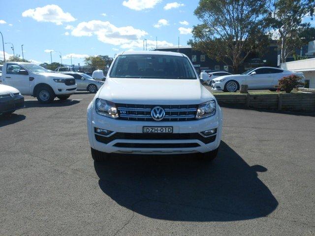 Demonstrator, Demo, Near New Volkswagen Amarok V6 TDI 550 Sportline, Nowra, 2018 Volkswagen Amarok V6 TDI 550 Sportline Dual Cab Utility
