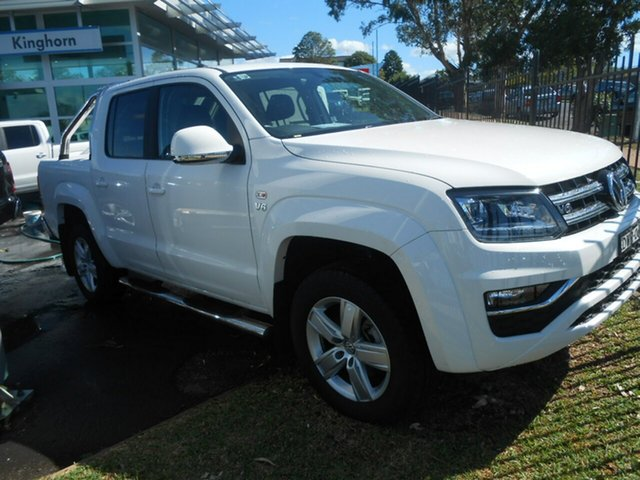 Discounted Demonstrator, Demo, Near New Volkswagen Amarok V6 TDI 550 Highline, Nowra, 2018 Volkswagen Amarok V6 TDI 550 Highline Dual Cab Utility