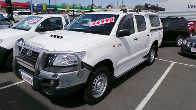 Used Toyota Hilux SR Double Cab, Morayfield, 2014 Toyota Hilux SR Double Cab Utility