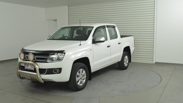 Used Volkswagen Amarok TDI420 4Motion Perm Trendline, Southport, 2012 Volkswagen Amarok TDI420 4Motion Perm Trendline Cab Chassis