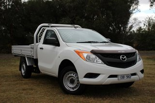 2014 Mazda BT-50 XT 4x2 Cab Chassis.