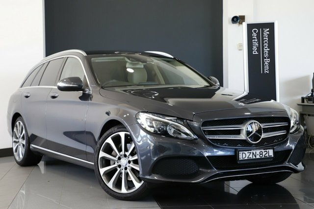Used Mercedes-Benz C250 BlueTEC Estate 7G-Tronic +, Narellan, 2015 Mercedes-Benz C250 BlueTEC Estate 7G-Tronic + Wagon