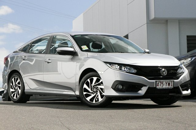 Demonstrator, Demo, Near New Honda Civic VTi-S, Indooroopilly, 2018 Honda Civic VTi-S Sedan