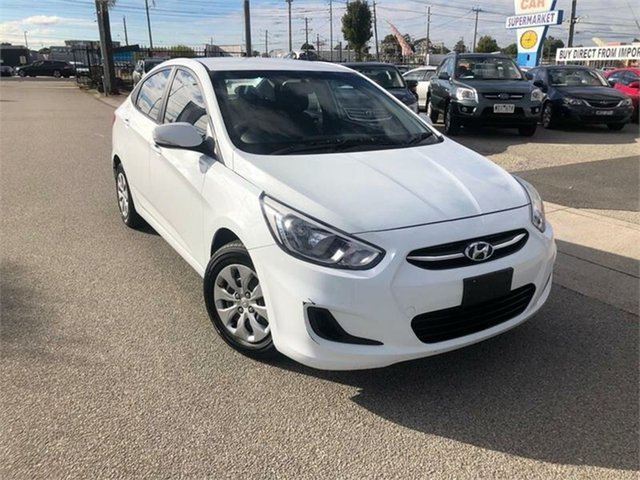 Used Hyundai Accent Active, Cheltenham, 2016 Hyundai Accent Active Sedan