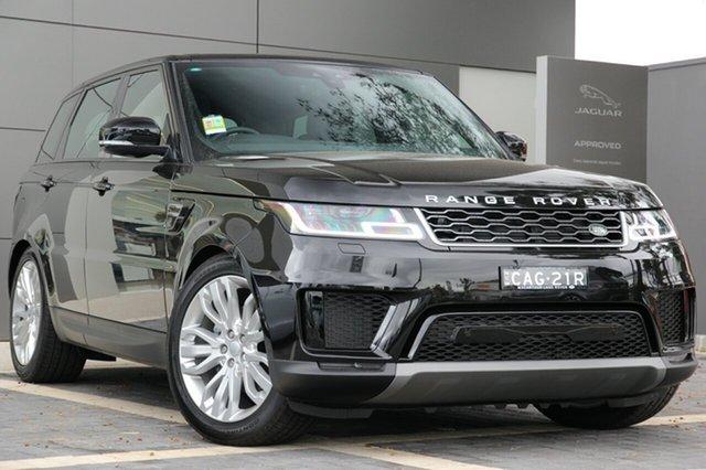 Demonstrator, Demo, Near New Land Rover Range Rover Sport SDV6 183kW CommandShift SE, Campbelltown, 2018 Land Rover Range Rover Sport SDV6 183kW CommandShift SE SUV