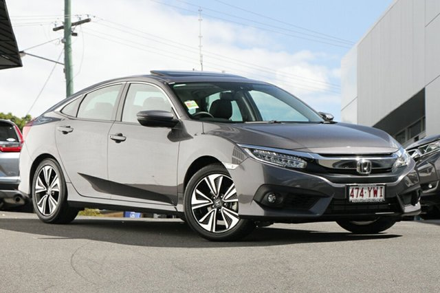 Demonstrator, Demo, Near New Honda Civic VTi-LX, Indooroopilly, 2018 Honda Civic VTi-LX Sedan