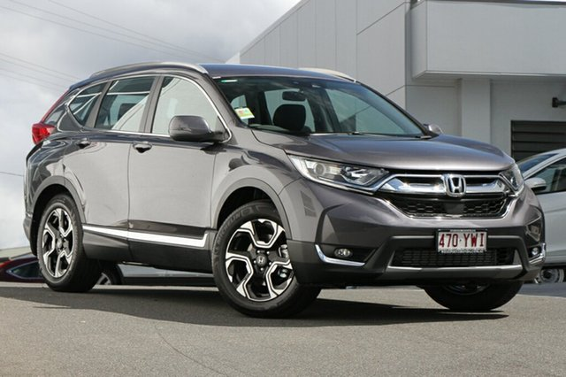 Demonstrator, Demo, Near New Honda CR-V VTi-S 4WD, Indooroopilly, 2019 Honda CR-V VTi-S 4WD Wagon