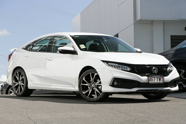 Demonstrator, Demo, Near New Honda Civic RS, Indooroopilly, 2019 Honda Civic RS Sedan