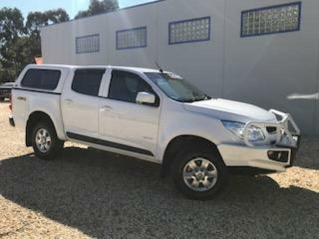 Used Holden Colorado LT (4x4), Wangaratta, 2012 Holden Colorado LT (4x4) Crew Cab Pickup