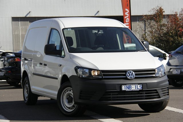 Demonstrator, Demo, Near New Volkswagen Caddy TDI250 Maxi DSG, Clayton, 2019 Volkswagen Caddy TDI250 Maxi DSG Van