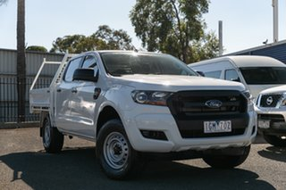 Used Ford Ranger XL 3.2 (4x4), Oakleigh, 2016 Ford Ranger XL 3.2 (4x4) PX MkII Crew Cab Chassis