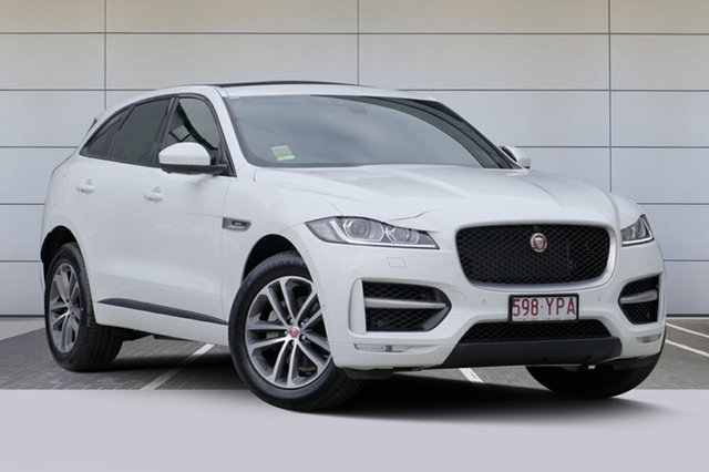Demonstrator, Demo, Near New Jaguar F-PACE 25d AWD R-Sport, Southport, 2017 Jaguar F-PACE 25d AWD R-Sport Wagon