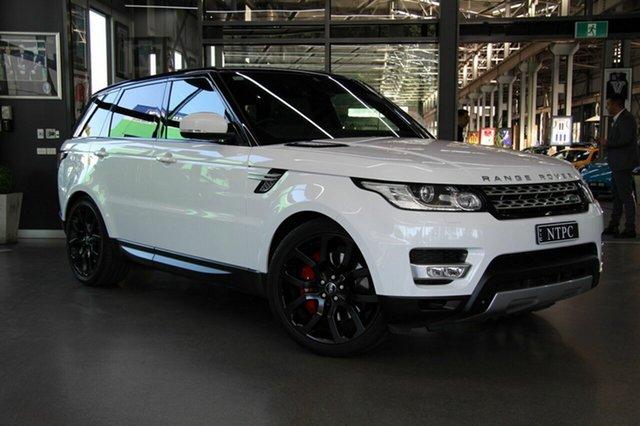 Used Land Rover Range Rover Sport SDV6 CommandShift HSE, North Melbourne, 2015 Land Rover Range Rover Sport SDV6 CommandShift HSE Wagon