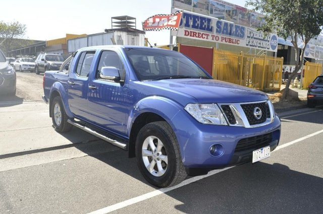 Used Nissan Navara ST-X (4x4), Hoppers Crossing, 2010 Nissan Navara ST-X (4x4) Dual Cab Pick-up