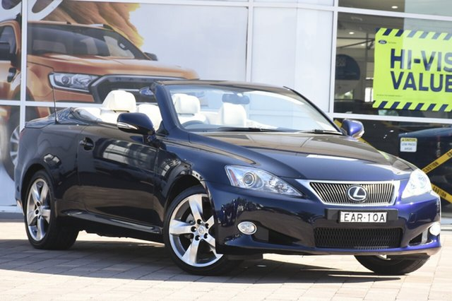 Used Lexus IS250 C Sports, Narellan, 2010 Lexus IS250 C Sports Convertible